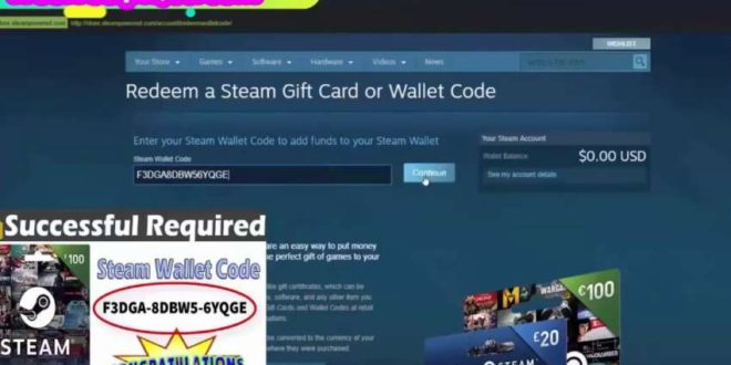 Free Steam Keys Codes Giveaway   How to get Free Steam Gift Cards